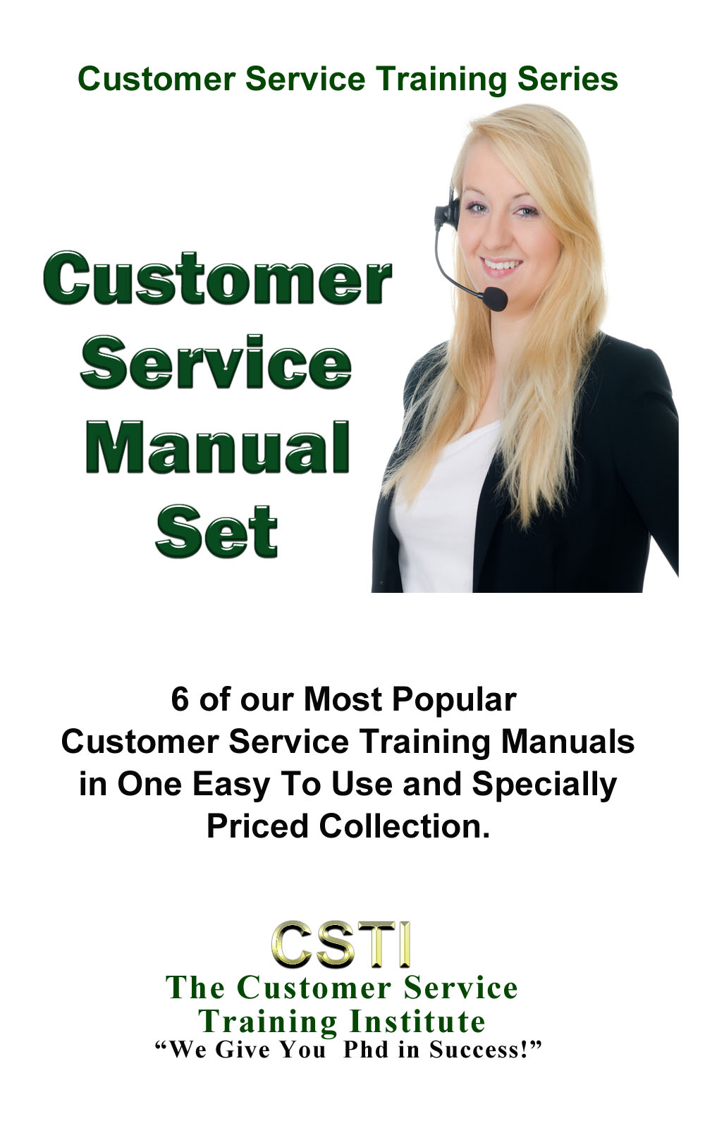 the customer service training institute customer service manual