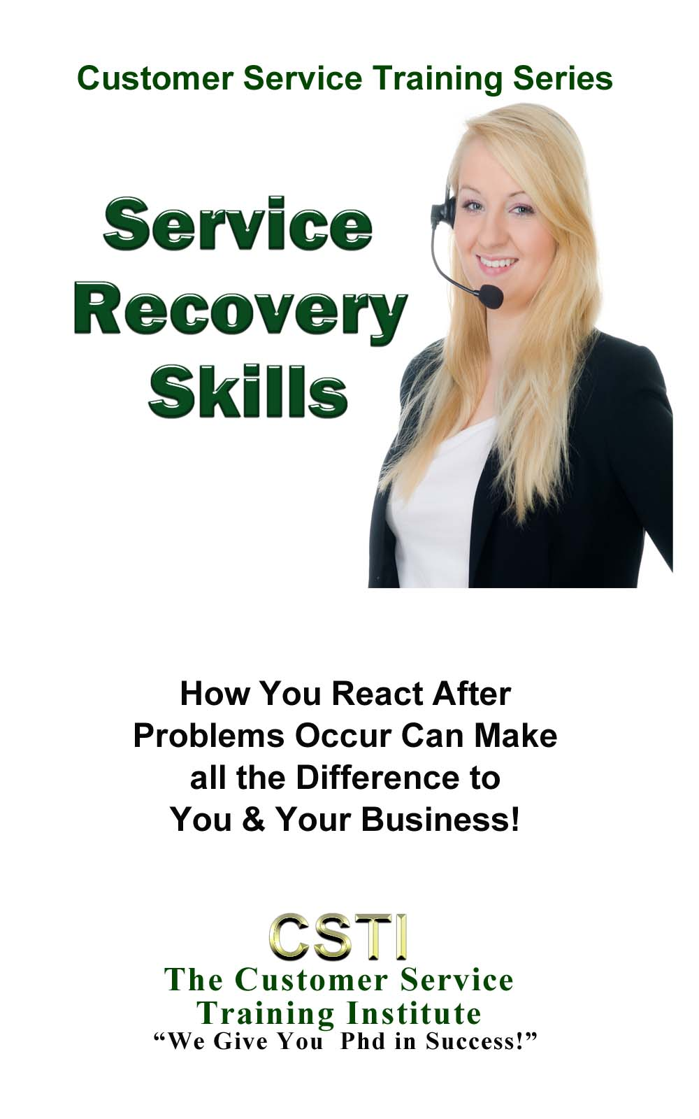 customer service recovery cover